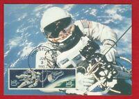 USA (1029 02 ) BELEG MAXIMUMKARTE  MK RAUMFAHRT WELTRAUM 1990