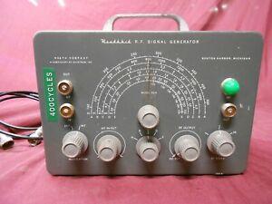 HeathKit RF signal generator model SG-8