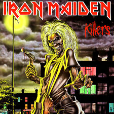 "2.5"" Iron Maiden Killers VINYL STICKER. Eddie, the Trooper, Number of the beast"