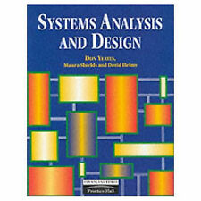 Systems Analysis and Design, James Cadle, M. Shields, D. Helmy