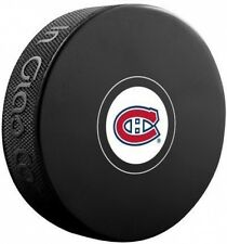 Montreal Canadiens NHL Team Autograph Model Hockey Puck READ DESCRIPTION