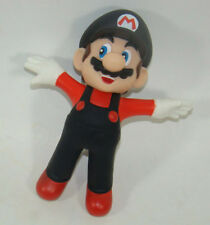 Super Mario Brothers Fly Mario Black Hat Action Figure Plastic Toy 12CM