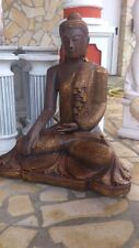 Gartenfiguren, Feng Shui, Asien Garten, Skulptur, Buddha XXL, 101cm, Gartendeko