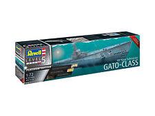Revell 05168 1/72 US Navy Gato Class Submarine Plastic Model Kit