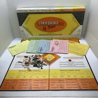 VTG 80s BoardGame Consequence Of Choice RARE Hard To Find Self Published Florida