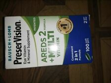 New listing 2 PreserVision AREDS 2 Plus Formula Multivitamin Softgels 100 Count each  1/19