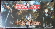 "1997 SEALED / SHRINKWRAPPED 20"" Harley Davidson Motorcycle  MONOPOLY GAME  MISB!"