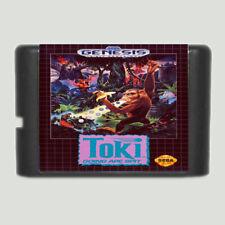 Sega Mega Drive Toki 16 bits Game Cartridge