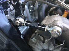 VW Golf Scirocco Mk1 Mk2 8v Alternator Adjuster Tensioner Bracket Black