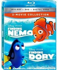 New listing Finding Nemo/Finding Dory 2-Movie Collection (Blu-Ray+Dvd+Digital)