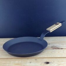 "Netherton Foundry 10¼"" (26cm) Spun Iron Shallow Frying Pan perfect for crepes"