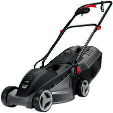 1000W Ecomow Electric Lawn Mower Lawnmower + Grass Catcher +3YR Warranty
