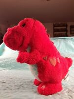 "HALLMARK VALENTINE'S DAY  LOVE A SAURUS  10.5""  ANIMATED PLUSH SOUND & MOTION"