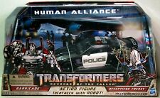 Transformers Human Alliance BARRICADE Complete Rotf Revenge of the Fallen -NEW