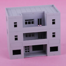 Apartment Building 1:100 TT Gauge Model Railway Train Sand Table Layout Toy