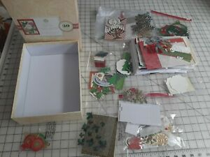 Anna Griffin Glorious Greetings Card Making Kit Holiday Opened