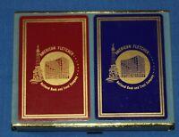 Vintage Congress AFNB Playing Cards Cel-U-Tone Finish 2 Decks SEALED