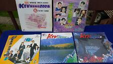SUPER Lot of 5 Laser KARAOKE Discs KOREAN ASIAN MUSIC KTV PIONEER 1990 s REMOTE