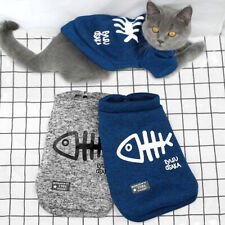 Cute Cat Jumper Coat Knitwear Chihuahua Dog Clothes Pet Sweater for Yorkie Breed