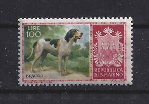 Dog Art Photo Body Portrait Postage Stamp ITALIAN BRACCO ITALIANO San Marino MNH