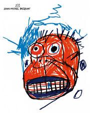 Art Poster Jean-Michel Basquiat Happy Popart   Art Print