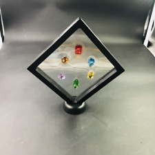 The Avengers Thanos 6PCS  Infinity Stones Gemstone Figure Ornament Collection