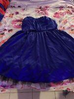 TORRID Strapless Dress SZ 14 Retail $159