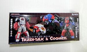 Maketoys Cogwheel Manga Mech MM-01 3rd Party Figure based Transformers G1 Gears
