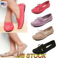 Women Casual Low Ankle Shoes Slip On Ladies Shoes Moccasins Comfort Flat Loafers