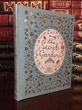 The Secret Garden by Burnett Brand New Sealed Leather Bound Collectible Edition