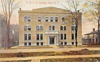 ROME NEW YORK-LOT OF 2 POSTCARDS 1910s Y.M.C.A. + HIGH SCHOOL