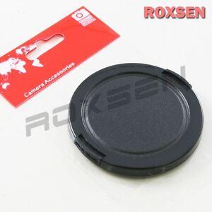 52mm Borde de plástico a presión en la tapa de la lente para la cámara SLR DSLR