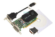 HP Nvidia Quadro 600 1GB Video Graphics Card 128-Bit DDR3 PCIe 2.0 x16 671135-00