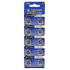 10x AG13 LR44 SR44 LR1154 357A A76 357 SR44SW Alkaline Button Cell Watch Battery