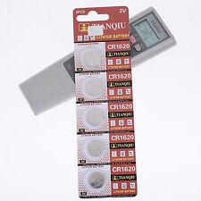 5pcs 3V CR1620 TIANQIU pile bouton Piles Batterie à usage unique Pour Montre sh