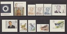 Belgique 2001 Cob# 2978/88 NON DENTELES Imperforate MNH - Cat Val 420€....A4421