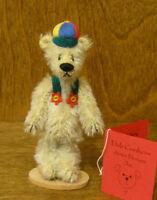 "DEB CANHAM Artist Designs OKE DOKEY, Woebe Bears Coll. 3.75"" mohair LE"