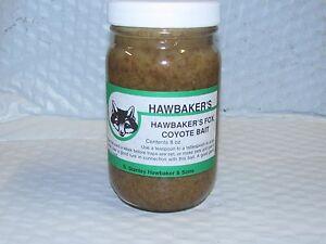 Hawbaker's Fox & Coyote Bait  8 Oz. Predator Bait Trap Trapping Duke snare SALE