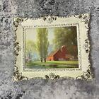 "8""x10"" - Rare Vintage Paul Detlefsen Framed Art ""Spring Morn"""