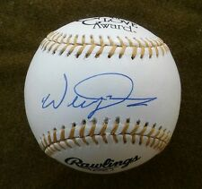 WILLIE DAVIS Autographed Rawlings Gold Glove Baseball DODGERS