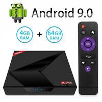 2019 X88 MAX+ 4GB+64GB Android 9.0 Pie Smart TV Box 4K HD Media Player Dual WIFI