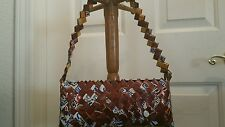 Chocolate  Candy Wrapper Handbag Cosmic Collins