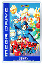 MEGA MAN THE WILY WARS MEGA DRIVE FRIDGE MAGNET IMAN NEVERA
