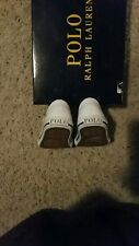 TODDLER RALPH LAUREN WHITE TENNIS SIZE 4 TODDLER
