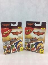 UNO Planes 2 CARD GAME by Mattel 2 Packs Free Postage - Classic Game