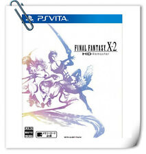 PSV FINAL FANTASY X-2 HD REMASTER ENG 最终幻想X 中文 英文 SONY VITA RPG Games Square