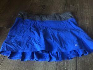 Lululemon running skirt size 8