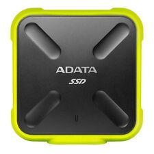 Adata SSD external Sd700 256g Usb3.1 durable Zółty