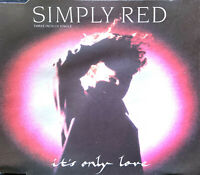 "Simply Red ‎Maxi CD 3"" It's Only Love - Europe (G/VG+)"