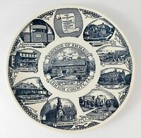 Borough of Emmaus PA Lehigh County Collectible Plate Kettlesprings Pennsylvania